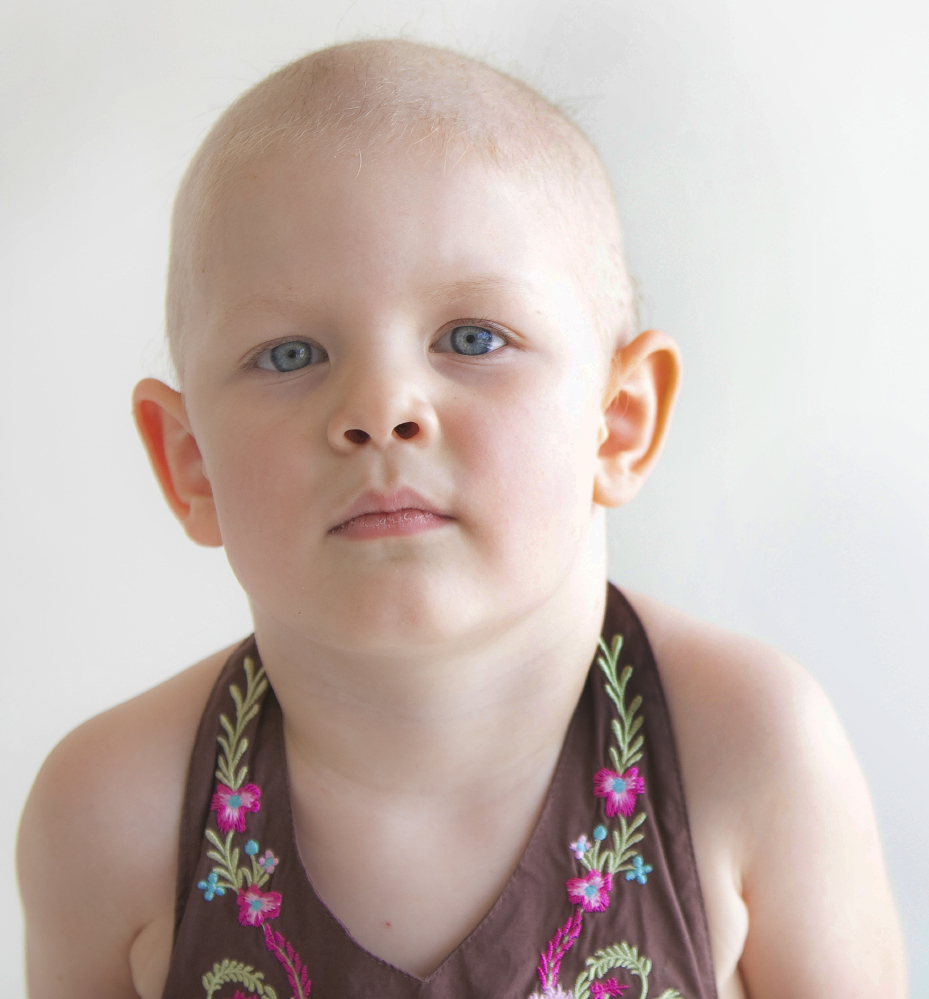 Child Girl Cancer